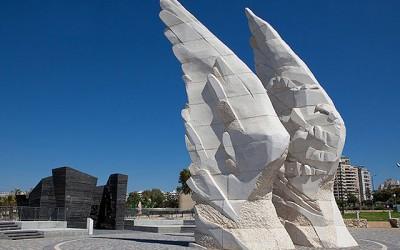 Уникальный памятник Победы в Нетании