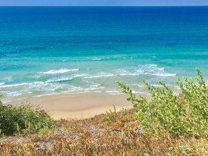 Один из видов на пляж Нетании