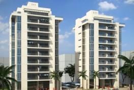 Четырехкомнатные апартаменты вблизи моря в Нетании