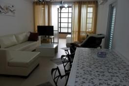 Большая четырехкомнатная квартира в центре Нетании