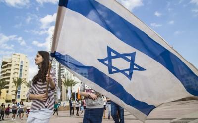 Праздник в честь 68-летия Израиля в Нетании