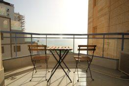 Четырех комнатная квартира с бассейном и видом на море в Нетании