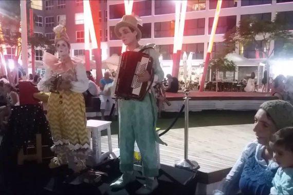 Фестиваль клоунады в Нетании