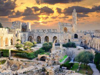 Подземная часть Иерусалима