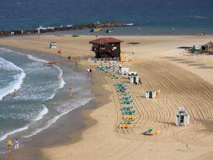 Пляжи гостеприимной Нетании