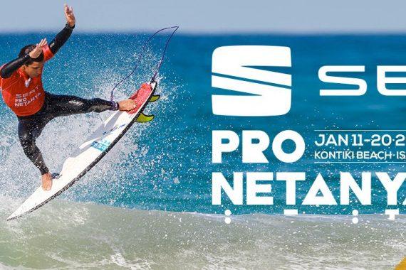 Международный чемпионат по серфингу Seat Pro Netanya