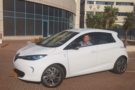 Электромобили напрокат в Нетании