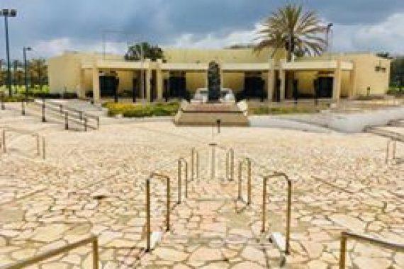 Церемония памяти павших в войнах Израиля и жертв террора в Нетании