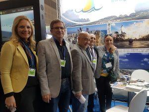 Нетания - участник международной выставки туризма.