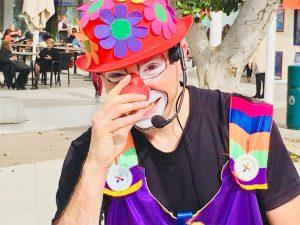 Фетиваль клоунов в Нетании