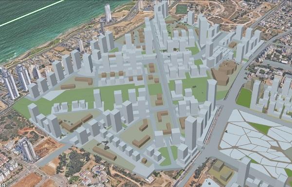 Новый городской центр Нетании находится в стадии реализации