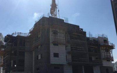 Строительство в Нетании упало на 7%