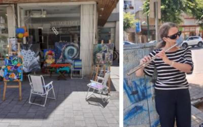 Уличные художники вернулись
