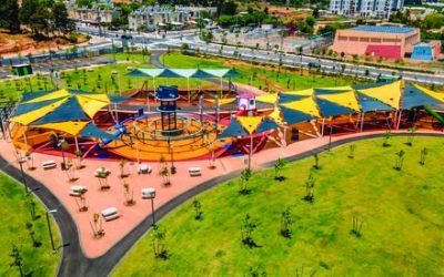 Новые и обновленные парки Нетании