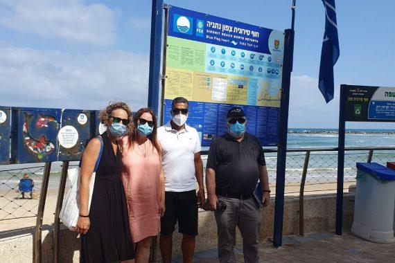Проверка качества пляжей Нетании