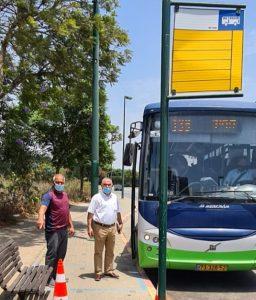 Обновление автобусных станций в Нетании