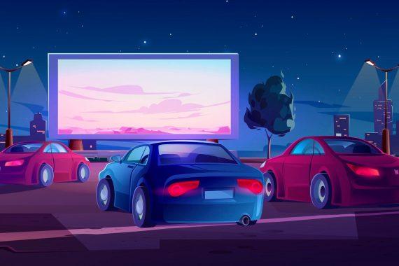 Вы скучаете по кино? На этой неделе Drive In откроется в Нетании.