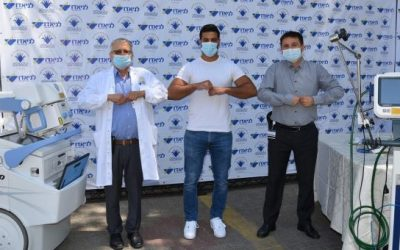 Около полумиллиона шек пожертвования от Саги Муки