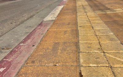 Южной мост в Полег в Нетании и решение проблем пешеходов