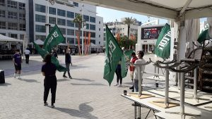 Предприниматели Нетании вышли на акцию протеста