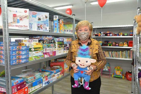 Дом для подержанных вещей и игрушек в Нетании