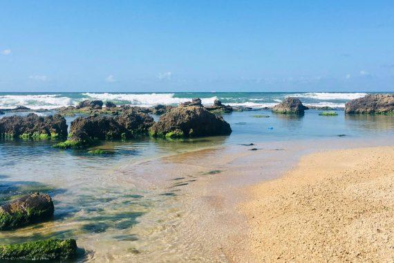 Обновление пляжа Блю Бей в Нетании