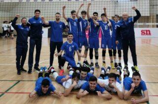 Нетания представлена на молодежном чемпионате по волейболу
