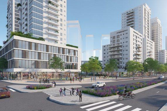 Представлен план нового района в центре Нетании