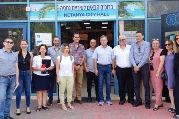 Нетанию посетил ген. директор Министерства туризма