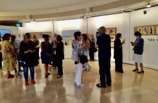 «Звуки на песке» - новая выставка в Доме Культуры Нетании