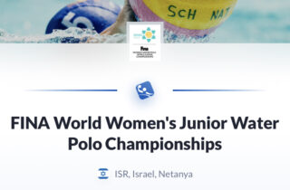 В Нетании пройдет чемпионат мира по водному поло среди юниоров женщин