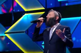 Житель Нетании произвёл фурор на выступлении украинского песенного шоу